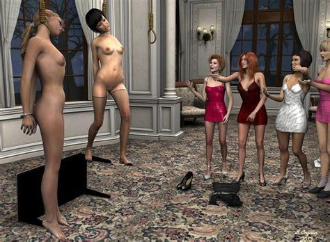 Erotic 3d hanging photos