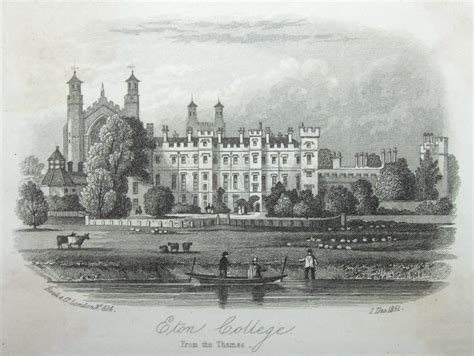 thames college berkshire suspended antique steel vignette eton college from the thames rock