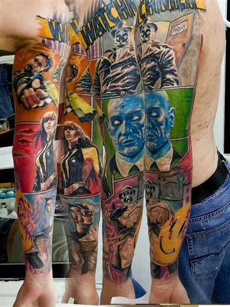 dc tattoo designs watchmen feelin nerdy