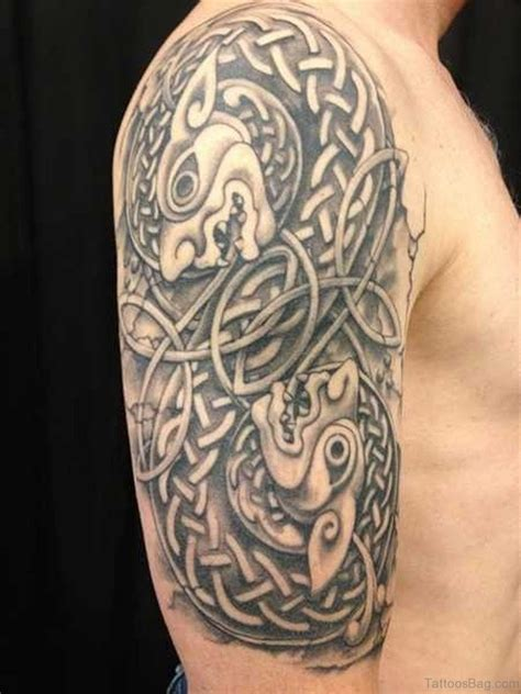 celtic half sleeve tattoos for men 50 best celtic tattoos for shoulder