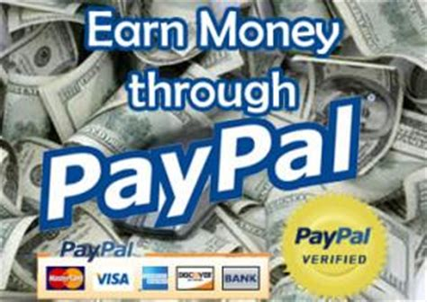 Make Money Online With Paypal - make money online via paypal