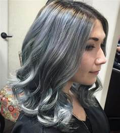 hair designs with grey streaks 20 shades of the grey hair trend