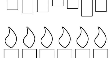 5 Best Images Of Birthday Candles Free Printable Template Free Printable Candle Coloring Pages
