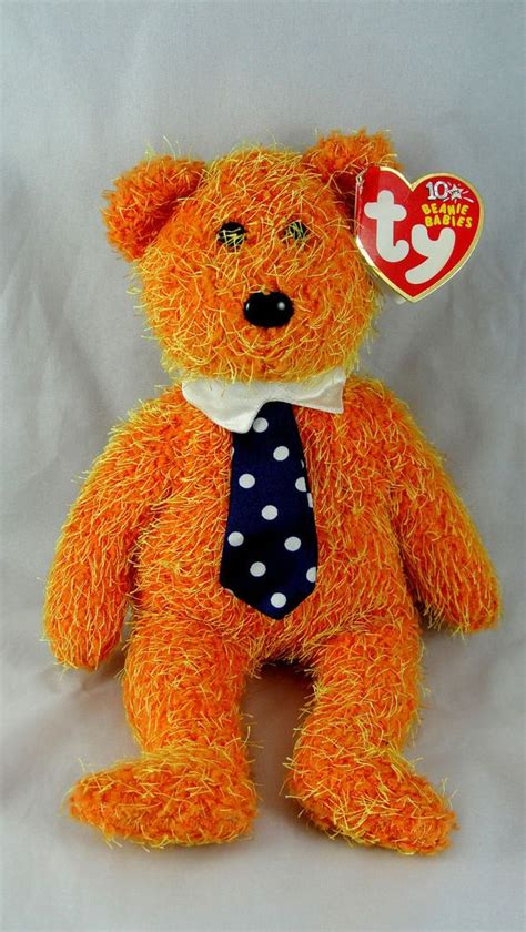 Boneka Teddy Topaz November Original Ty The Birthday Beanies 1000 images about ty plush collectibles on plush collie puppies and tans