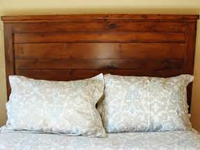 how to make a headboard out of wood how to build a rustic wood headboard how tos diy
