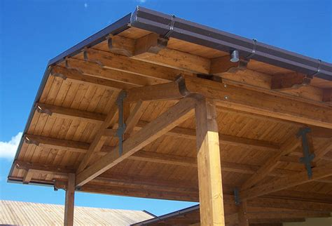 tettoie autoportanti strutture autoportanti lavori falegnameria la quercia