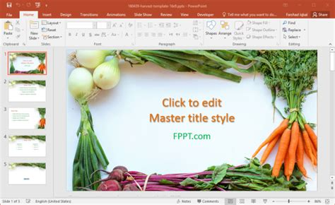 Free Healthy Food Powerpoint Templates Healthy Food Powerpoint Template