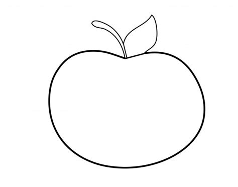Clipart Outline by Apple Outline Clipart Free Stock Photo Domain Pictures