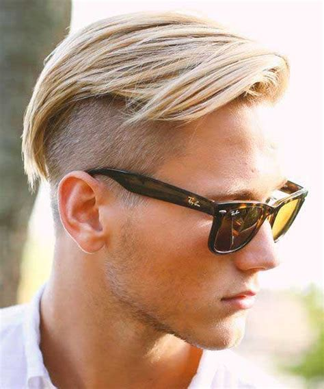 short hair on top and sides poney tail in back 20 cool short haircuts for men mens hairstyles 2018