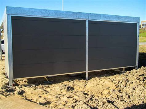 carport seitenwand design carport im kubus format cartop