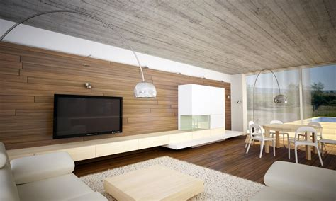 Exposed Concrete Ceiling by Modern Interior Bungalow With Exposed Concrete Ceiling