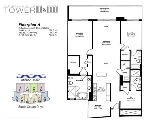 Beach Club Hallandale Floor Plans by Beach Club One Condos For Sale And Rent In Hallandale