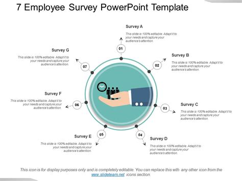 7 Employee Survey Powerpoint Template Powerpoint Templates Designs Ppt Slide Exles Survey Powerpoint Template Free
