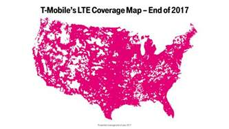 t mobile coverage map t mobile dominates spectrum auction will boost lte