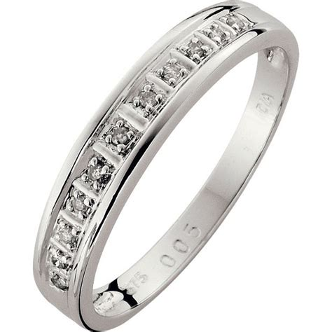 7 Beautiful Eternity Rings by Buy 9ct White Gold Accent Eternity Ring At Argos
