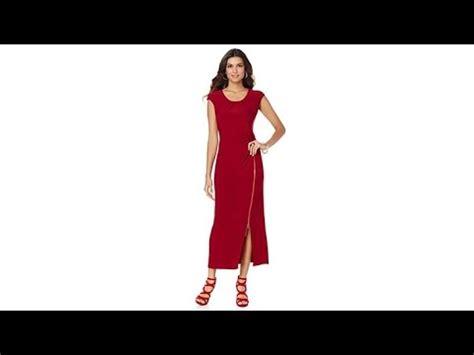 Velove Maxy Dress Hq 1 b shirred maxi dress with side zipper