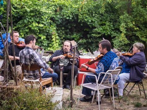 backyard music sharing the music in a berkeley backyard cajun style