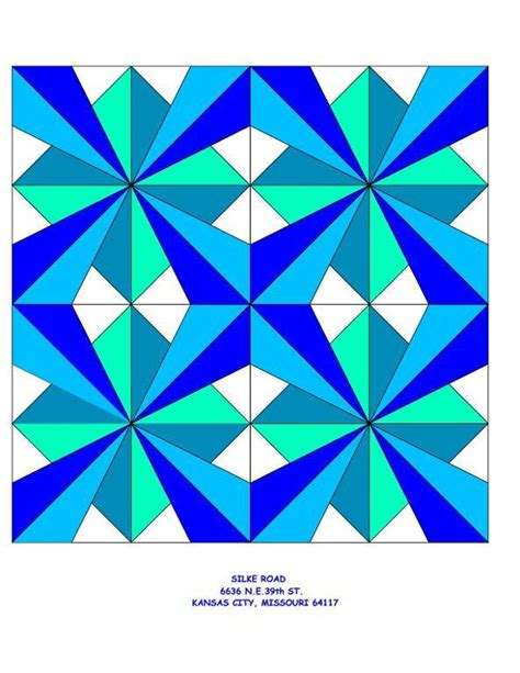 Seven Quilt Block Pattern by 3d Millenium Quilt Block Pattern By Lindatemple Craftsy