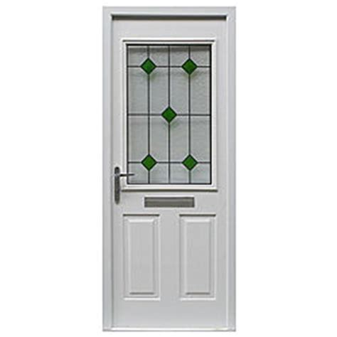 B And Q Front Door B Q Arlington Composite Front Door Frame Set White Leaded Glass Lh H 2085 X W 920mm 0000003160855