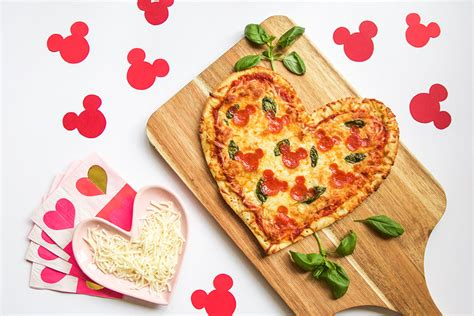 valentines day pizza s day mickey pepperoni pizza disney family