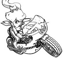 mario kart 8 coloring pages mario and coloring pages coloring home