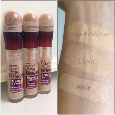 Maybelline Instant Age Rewind Shade Light maybelline instant age rewind concealer follow my instagram mellyfmakeup mellyfmakeup