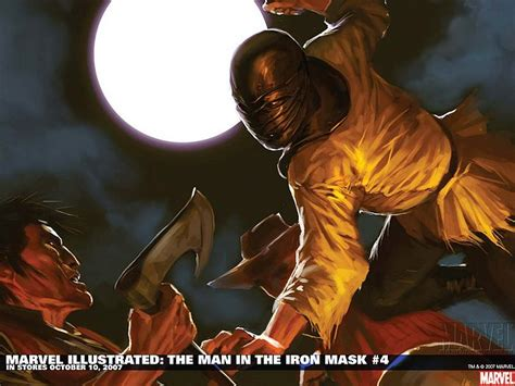 the iron man illustrated 1406329576 marvel illustrated the man in the iron mask 4 marvel comics wallpaper 5 wallcoo net