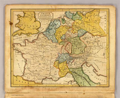 map netherlands germany switzerland map germany