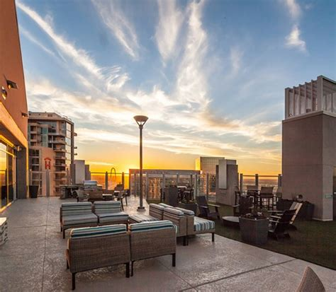 Fireplace Lounge Dallas by Victory Park Apartments Skyhouse Dallas Dallas
