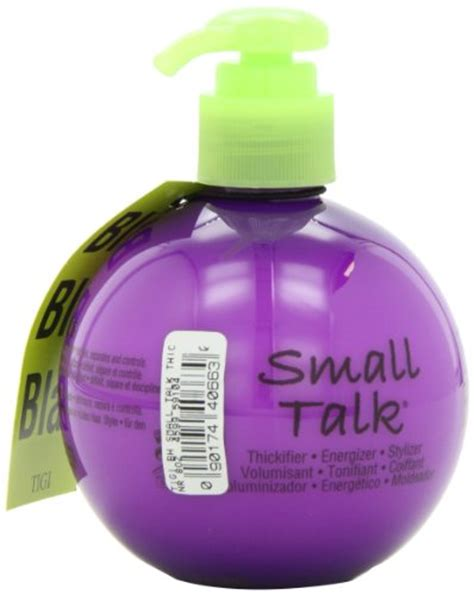 bed head small talk review tigi bed head small talk thickifier 8 ounce in the uae