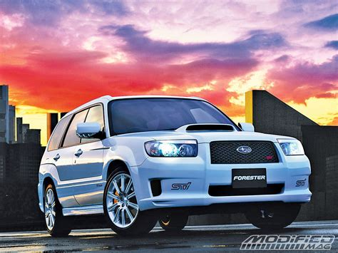 subaru forester modified building your own subaru forester sti modified magazine
