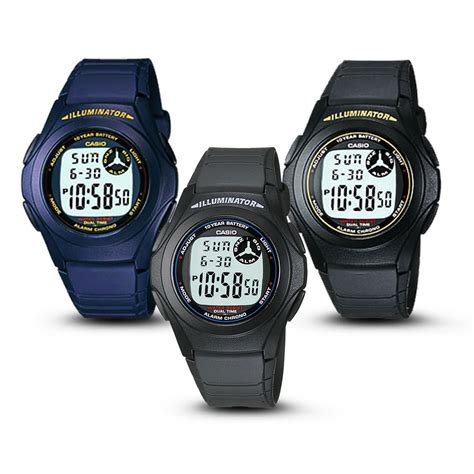 Jam Tangan Casio F 200w Original jam tangan casio digital f 200 w series free shipping