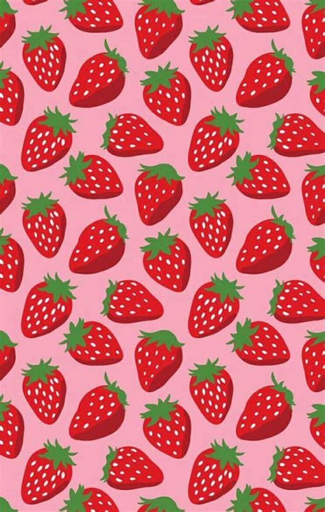 fruit pattern hd strawberry wallpaper cos de fresas pinterest