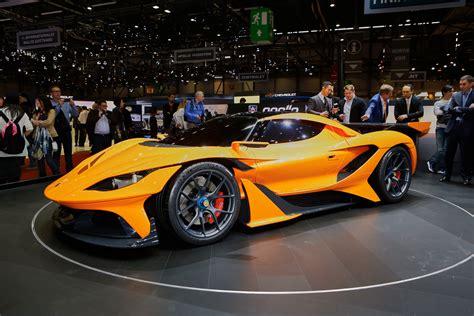 Apollo arrives in Geneva with 986 hp Arrow supercar