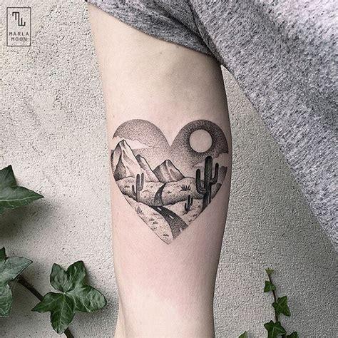 jemka tattoo instagram 25 b 228 sta id 233 erna om landscape tattoo p 229 pinterest