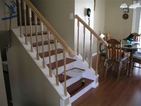 Banister Repair renew view project photo gallery custom carpentry and