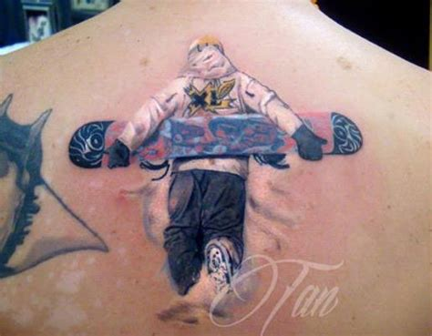 list of best snowboard ski surf amp skateboard tattoos 2014