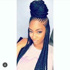 Black braids hairstyles 2018