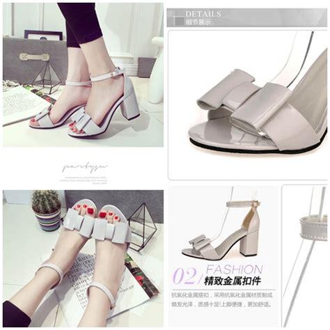 Sepatu Wanita Sepatu Wedges Sepatu Heels 6 jual shhc03 gray sepatu heels pesta cantik 6cm
