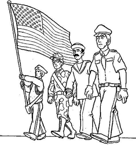 military branches coloring pages coloring pages