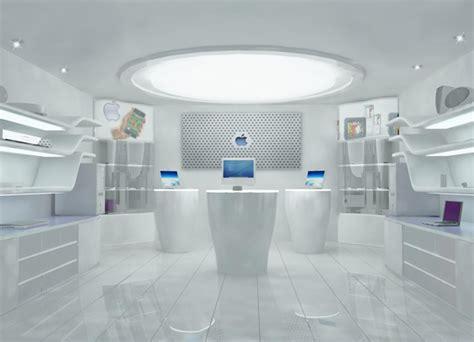 apple concept store on behance