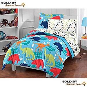 Dinosaurs Bedroom Set Boys Bed In A Bag Comforter Sheets Childrens Bedding Ebay 5 Dinosaur Toddler Bedding Set Bed In A Bag Dinosaur Comforter Set