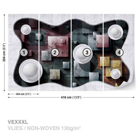 Fototapete Modern by Fototapete Tapete Modern Abstrakt Design Kunst Kugeln Bei