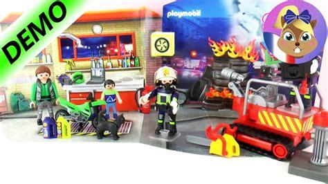 Calendrier De L Avent Francais Calendrier De L Avent Playmobil 2016 Pompiers En