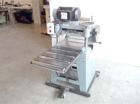 delta woodworking tools prices used delta dc 380 15 quot inch woodworker planer pre owned