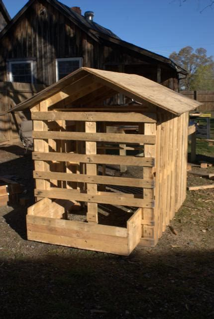 Shed Building Forum by Make Your Own Coop From Free Pallets See Mine Pic Heavy