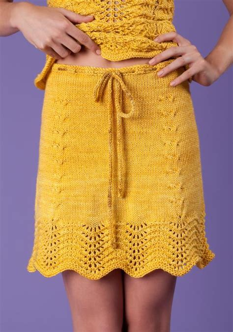 knit skirt pattern sunflowers skirt by armyofknitters craftsy