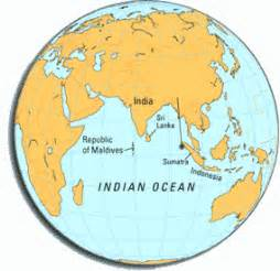 Maldives On World Map by Escape From The Real World Maldives