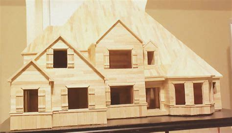 Outstanding Toothpick House Plans Images Best Toothpick House Plans