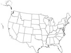 blank united states map printable worksheet explore the united states discovery activity